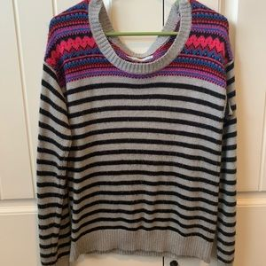 Striped/patterned Sweater